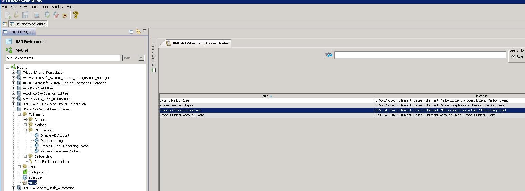 User scenario for offboarding an employee - Documentation for BMC ...