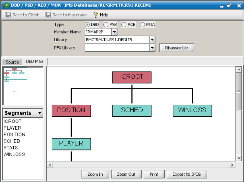 Overview of the DBD mapping tool - Doentation for IMS Database ... on