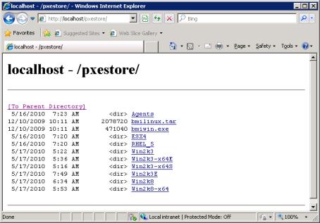 Configuring IIS Web Server Share - Documentation for BMC Server