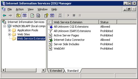 Configuring IIS Web Server Share - Documentation for BMC