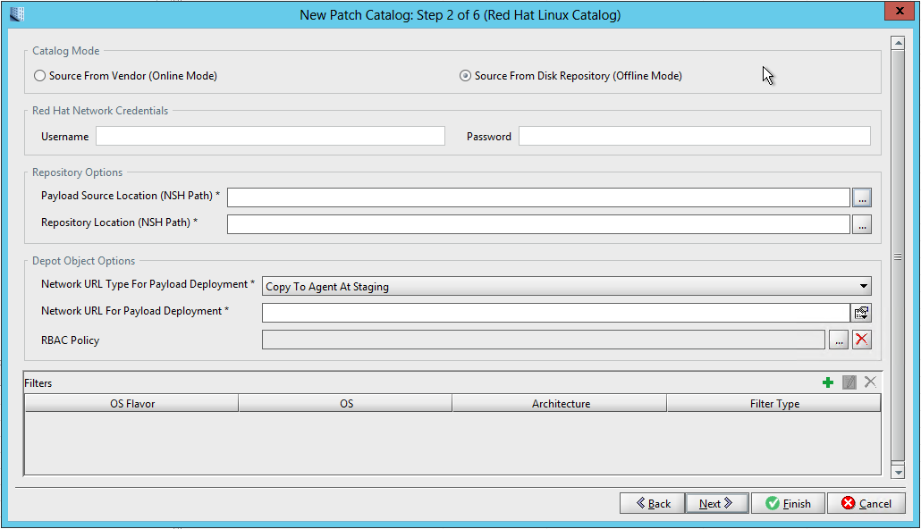 Walkthrough: Setting up and managing an offline patch catalog for