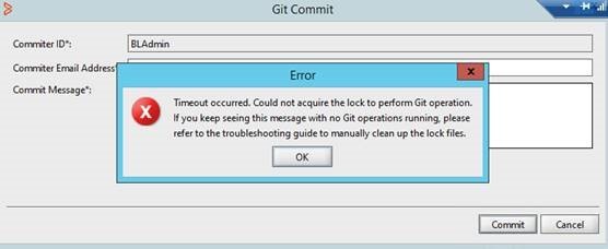 Troubleshooting Git version management issues - Documentation for