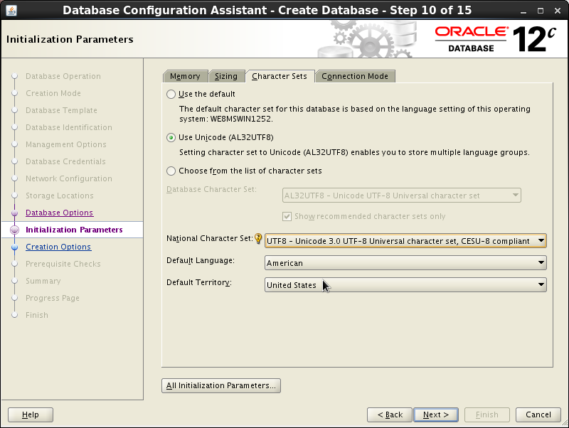 Configuring the Oracle database - Documentation for BMC Client ...