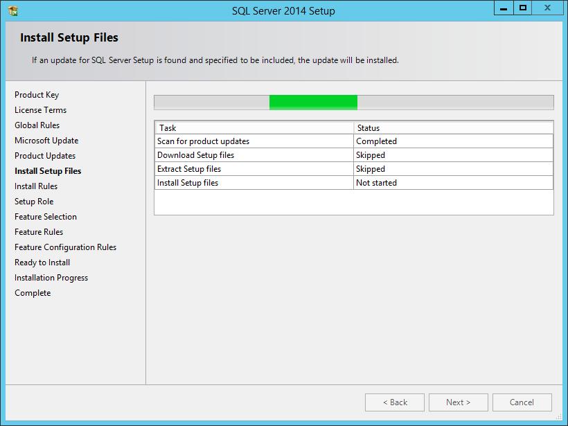 Installing Microsoft SQL Server 2014 - Documentation for BMC Client