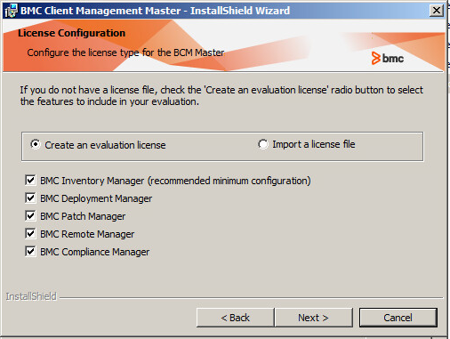 Installing onsite on Windows and installation options