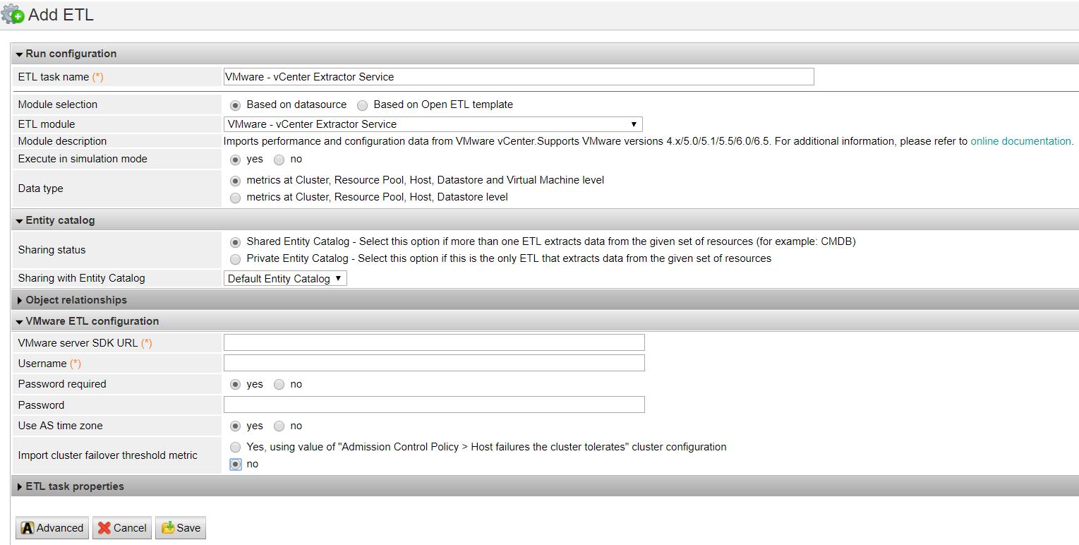 VMware vCenter Extractor Service - Documentation for BMC