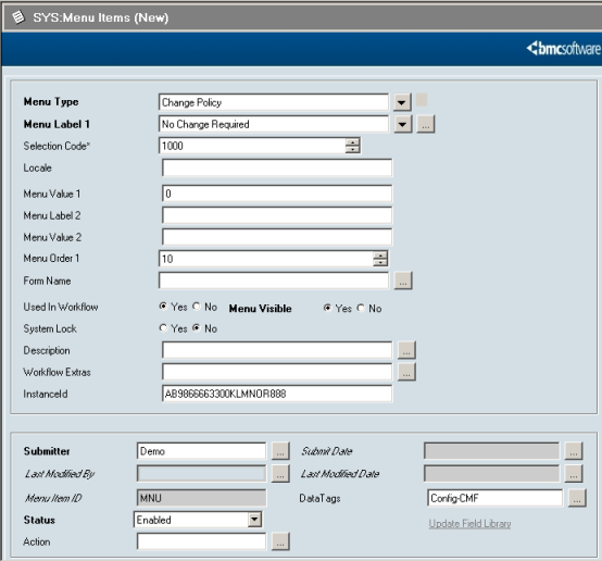 Configuring Change Management integration - Documentation for BMC ...