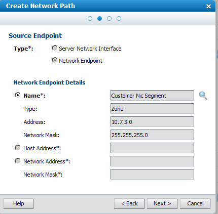 Creating network paths documentation for bmc cloud lifecycle click next to display the source endpoint dialog it defaults to the selected network instance from which the outbound traffic originatesthe customer nic malvernweather Gallery