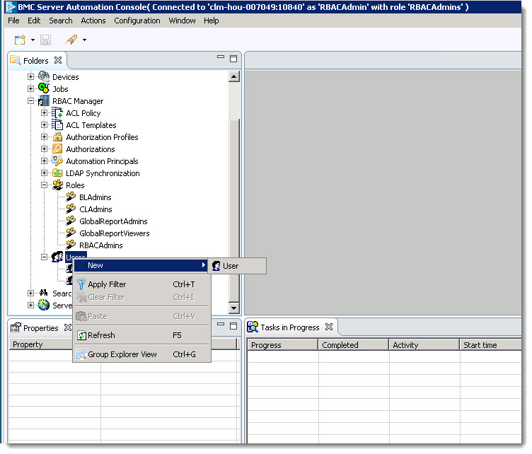 Documentation For Bmc Server: Integrating BMC Server Automation With A Role Other Than