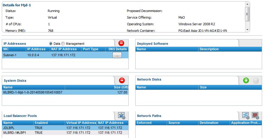 Managing load balancers for the Azure Provider
