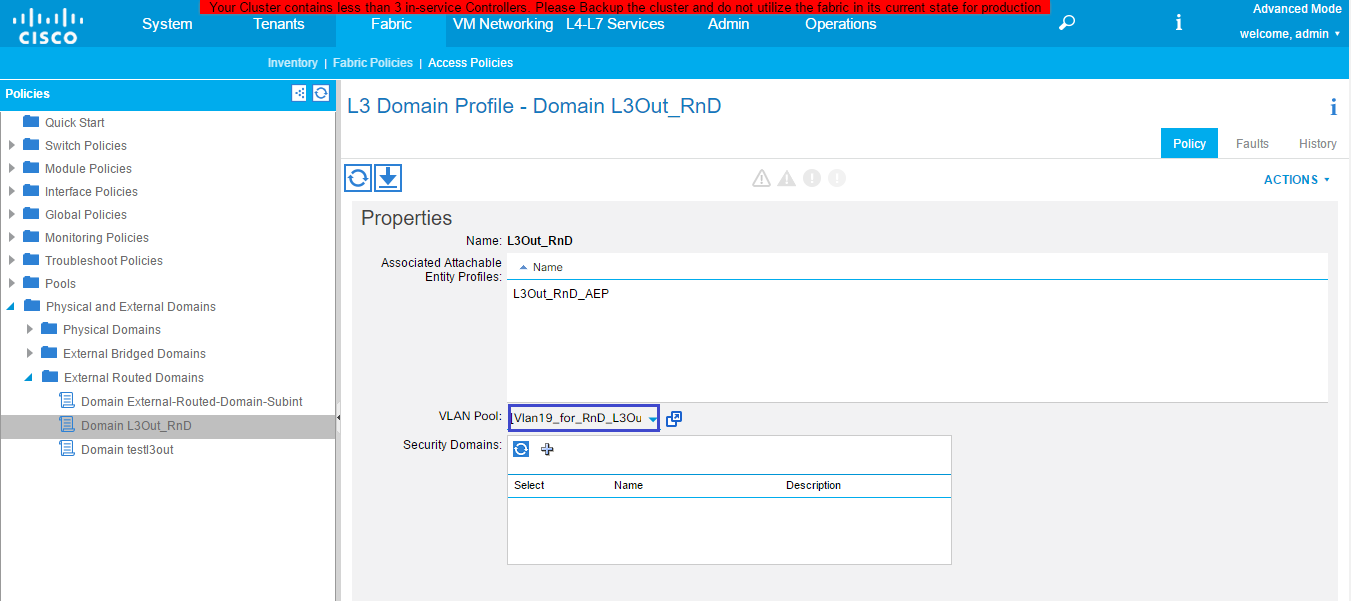Configuring Cisco Aci Documentation For Bmc Cloud Lifecycle