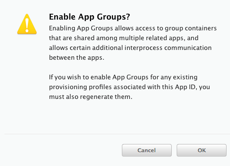 Re-signing the Apple iOS client application for Enterprise