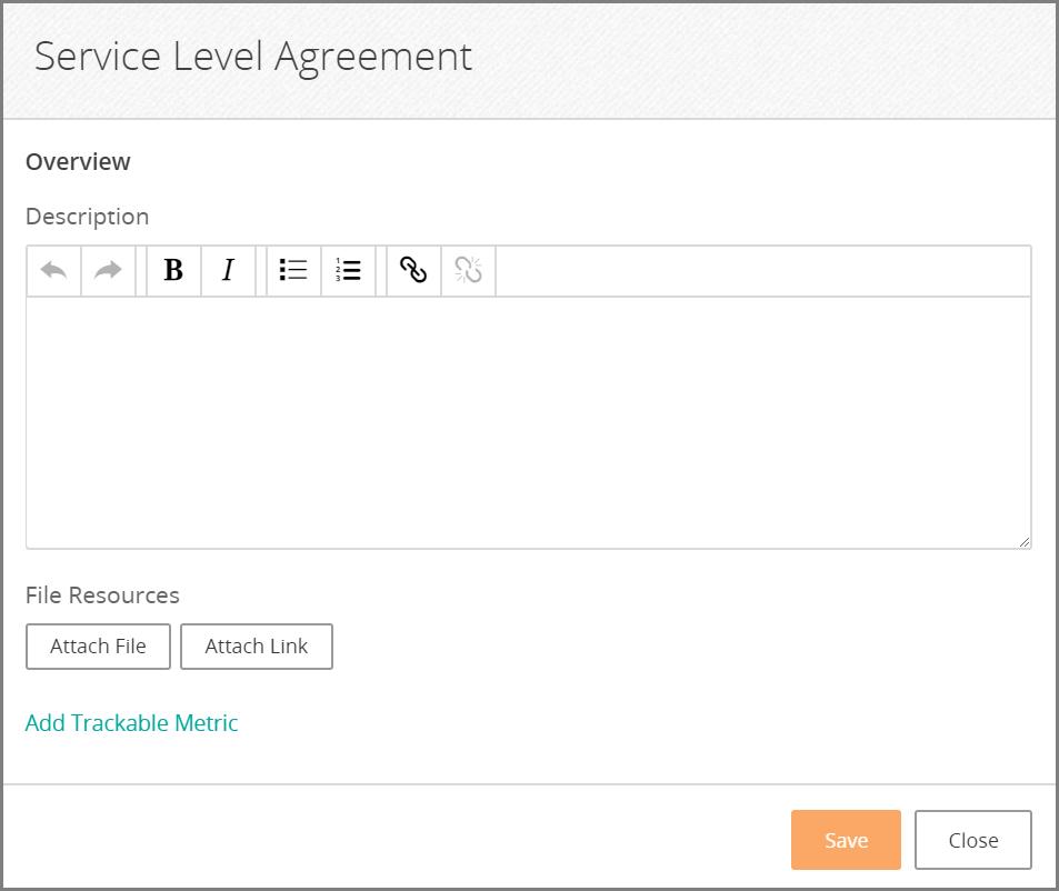 Setting Service Level Agreements Documentation For Bmc Digital
