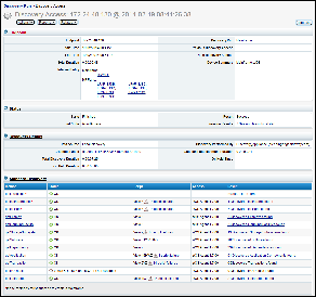This screen illustrates a DiscoveryAccess page for a mainframe computer.