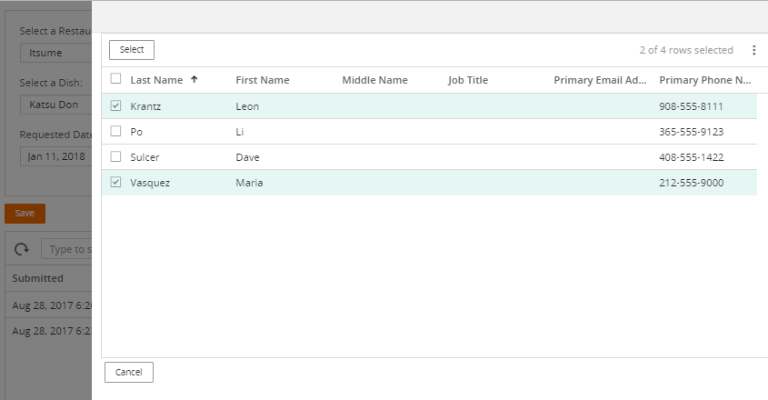 Enhancing our New Order view to use associations