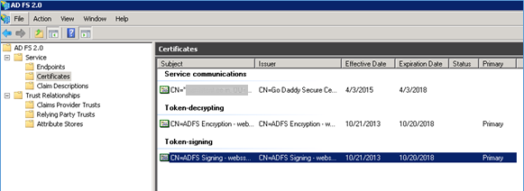 Federated Single Sign-On Using ADFS 2 0 - Documentation for BMC