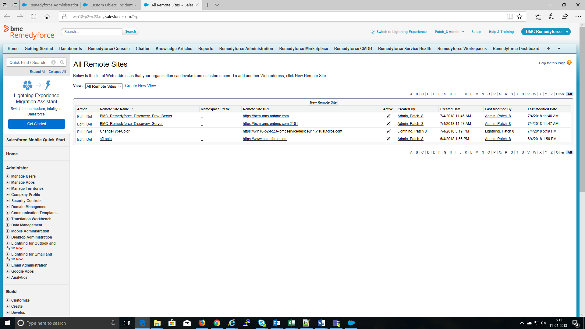 Enabling and configuring agentless discovery - Documentation for BMC