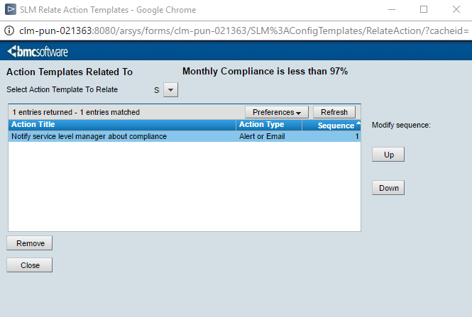 relating milestone and action templates documentation for bmc