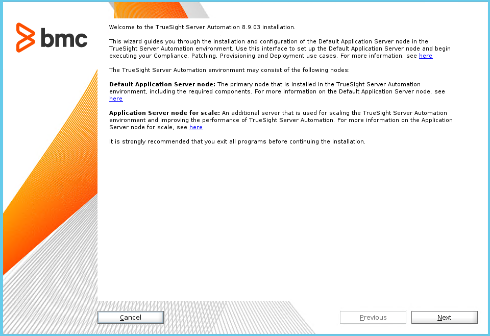 Walkthrough: Installing on Linux using the unified installer